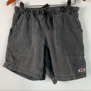 Vtg Zoic Mens Medium Hiking Cycling Shorts Belt